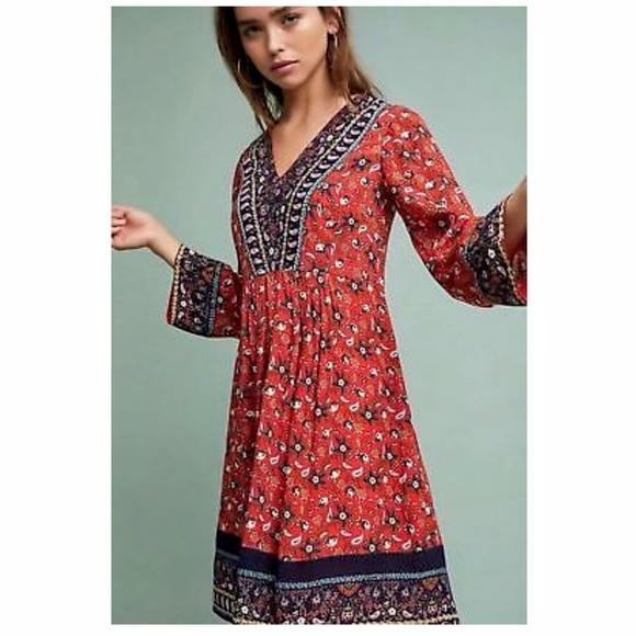 Anthropologie Dresses & Skirts - Anthropolgie Sierra embroidered dress